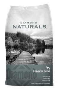 best senior dog food - Diamond Naturals