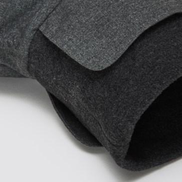 07 08 C7 Dog Coat Brooklyn Cambridge Waterproof Wool Grey Detail 2 SCREEN