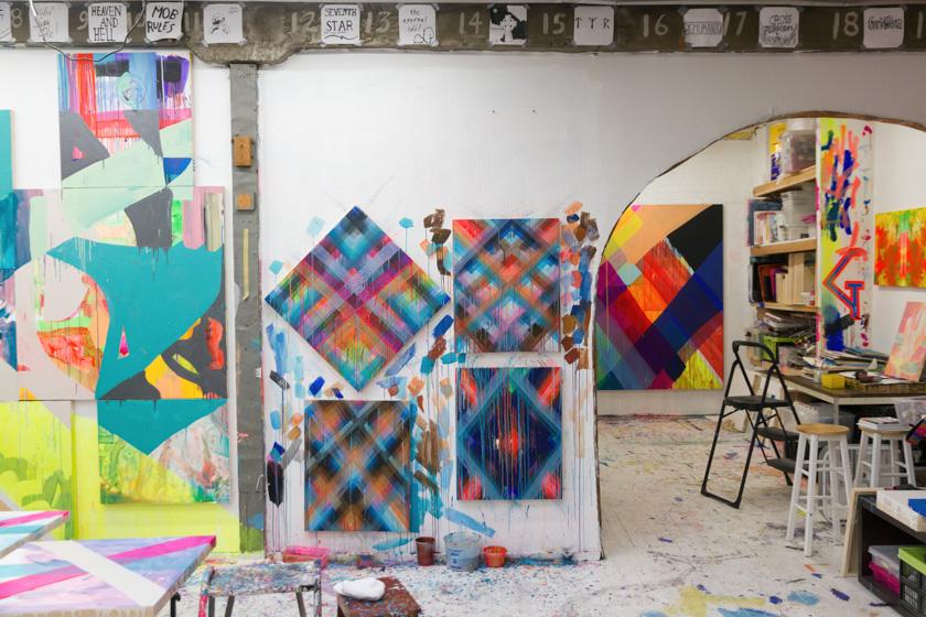 Maya Hayuk Studio