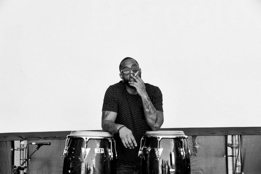 Matthieu Edward - Chassol's Drummer