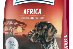 Happy Dog Africa pack shot scaled Happy Dog's Ostrich Meat Food Helps Dogs With Delicate Stomachs & Helps To Aid Projects In Rwanda