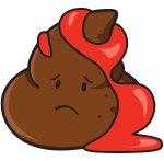 Dog Poop Color: Bloody