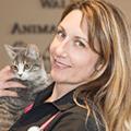 Dr. Carolyn Lariviere DVM, Walden Animal Hospital, Cookie's vet