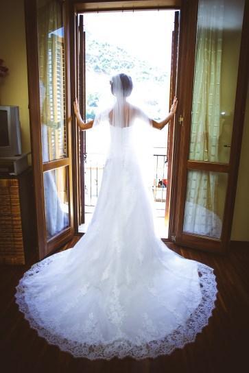 Свадьба на Сицилии. Платье невесты.