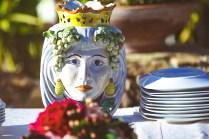 Свадебный ужин под открытым небом на Сицилии