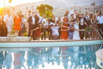 Свадебный ужин под открытым небом на Сицилии / Wedding reception in Sicily
