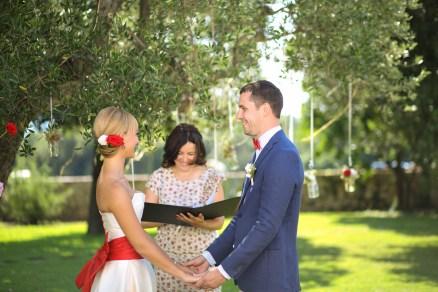 Символическая свадебная церемония в Италии. Simbolic Wedding Ceremony in Italy