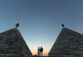 Закат в Апулии. Sunset in Apulia