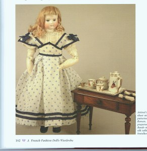 A French Fashion Doll's Wardrobe, by Louise Hedrick