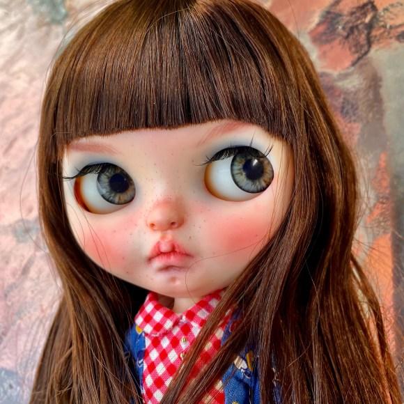 Custom Blythe doll Cass