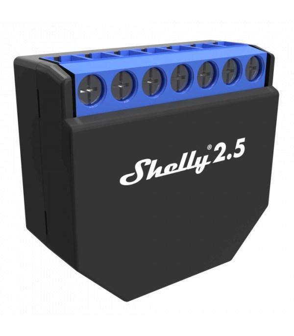 SHELLY - Micromodule intelligent Wi-Fi 2 sorties Shelly 2.5