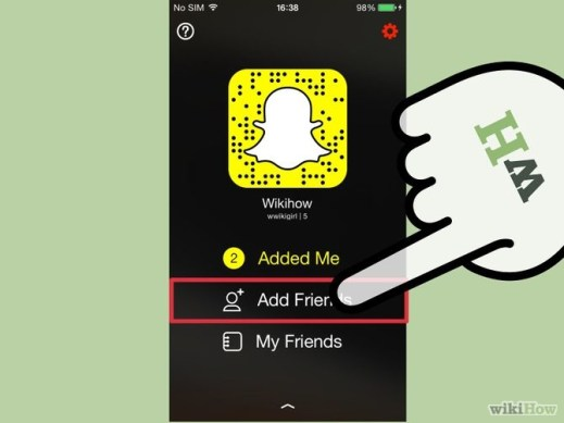 Related image how to find friends on Snapchat