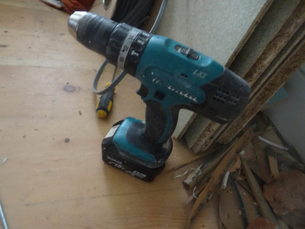 My lovely Makita - essential tools for property developers