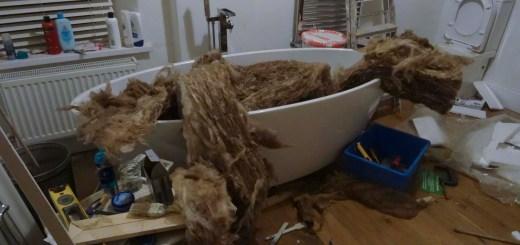 bathroom a nightmare