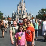 Wordless Wednesday — First Footing, Disney Style!
