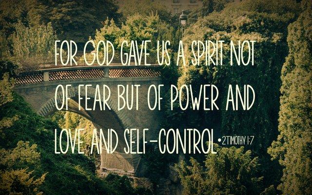 2Timothy 1:7