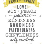 Prayers for the Week: Fruit of the Spirit – Love