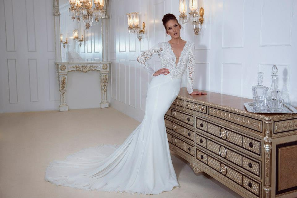 TOP 10 Wedding Dresses With Long Sleeves Designers