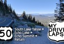 The Drive to Echo Lake & Summit, on US 50, south of Lake Tahoe