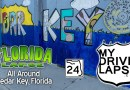 A Drive around Cedar Key, the Old Florida, Gulf Coast Dashcam