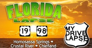 US 19 and 98 through Florida: Homosassa Springs, Crystal River