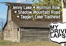 Driving Around Grand Teton National Park: Jenny Lake, Mormon Row Barns, Shadow Mountain Road