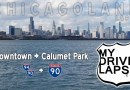 Interstate 90, 94 Southbound out of Chicago: to Calumet Park