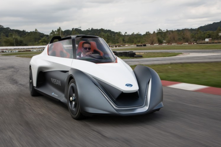 Nissan electrifies performance at the Goodwood Festival of Speed