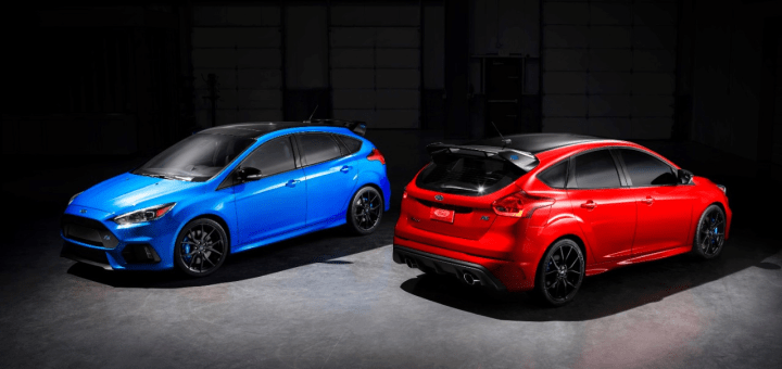 2018 Ford Focus RS: Limited Edition Revealed