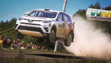 Toyota RAV4 Rallies to Stunning Victory at STPR