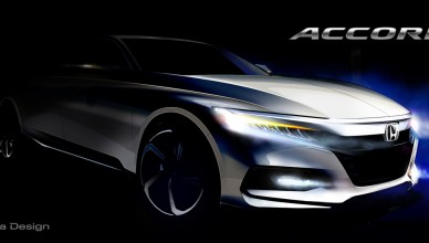 World Debut of Dramatically-styled 10th Generation Honda Accord