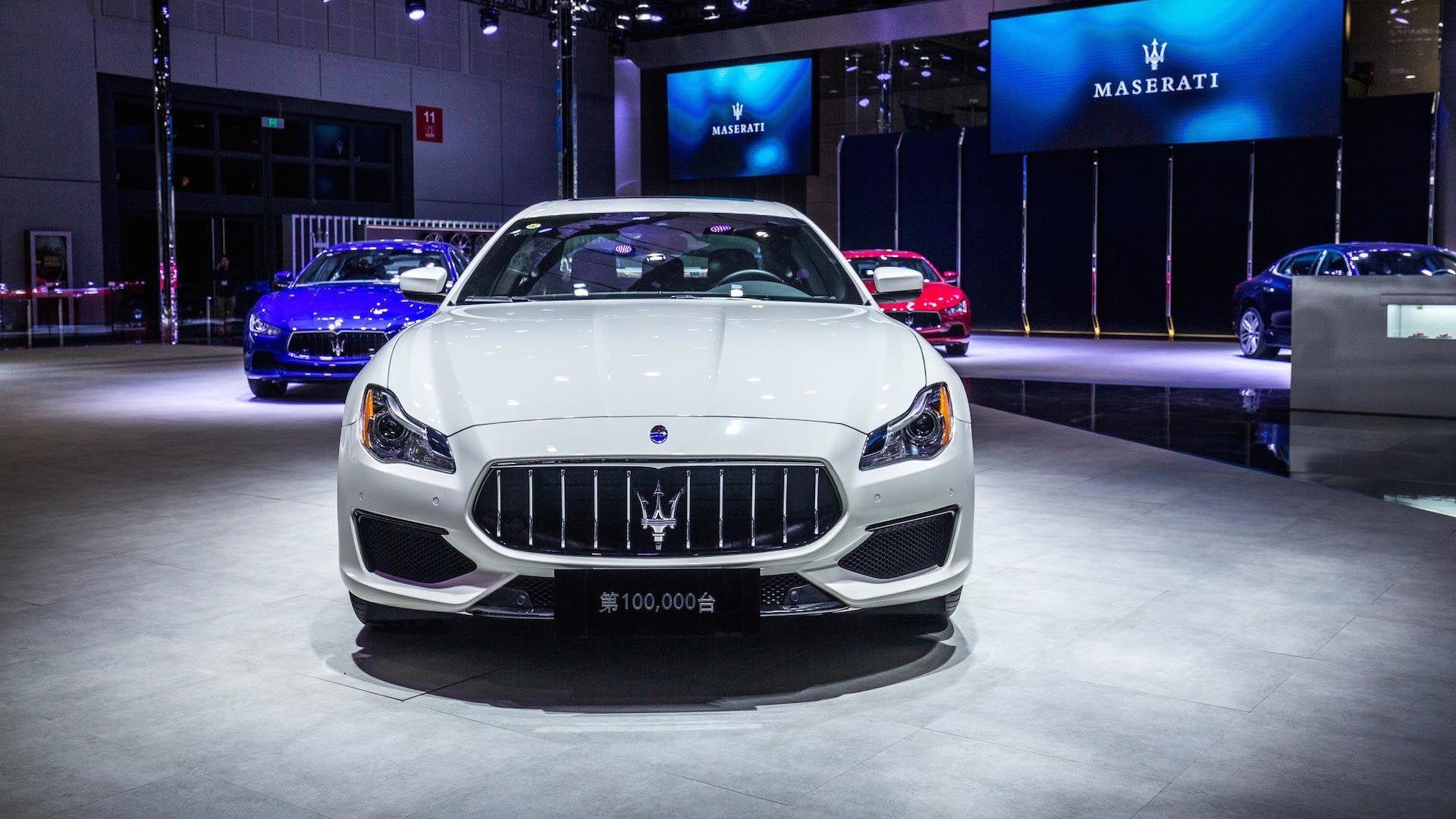 Maserati celebrated the milestone delivery of its 100,000th car