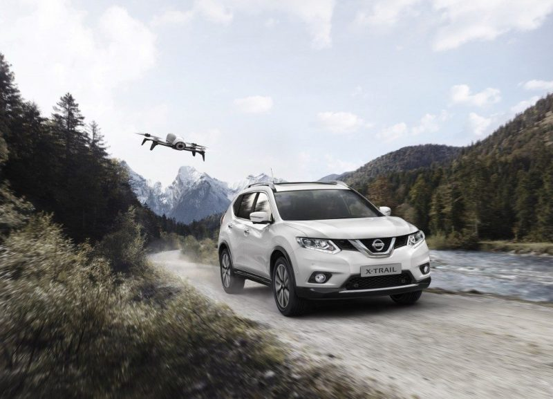 The Nissan X-Trail