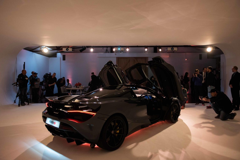 New McLaren 720S supercar