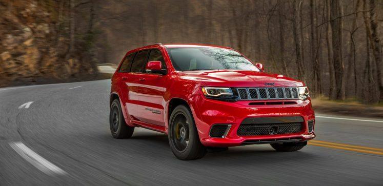 All-new 2018 Jeep Grand Cherokee Trackhawk