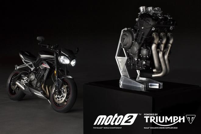 Triumph To Supply Engines For Fim Moto2 World Championship Starting 2019 Season