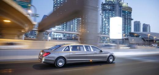 Mercedes-Maybach S 600 Pullman