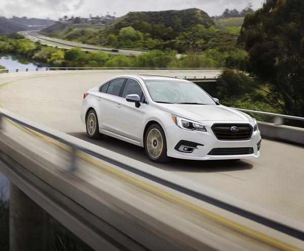 Subaru Of America Announces Pricing On Refreshed 2018 Legacy And Outback Models