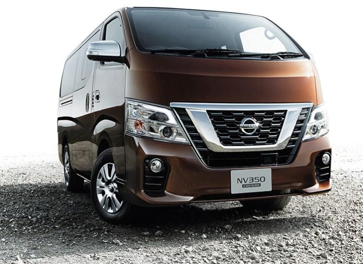 Nissan's redesigned NV350 Caravan goes on sale in Japan