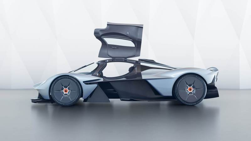 Aston Martin Valkyrie: Secrets Of Exterior And Interior Design Revealed