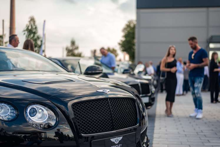 Bentley Opens All-new Showroom In Mannheim
