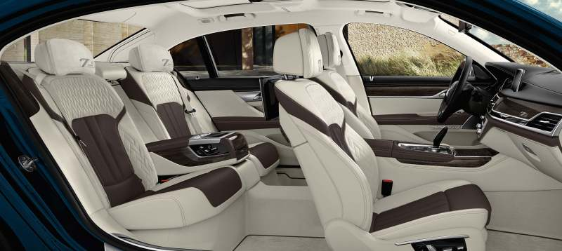 Luxury, elegance and dynamism by tradition: The BMW 7 Series Edition 40 Jahre