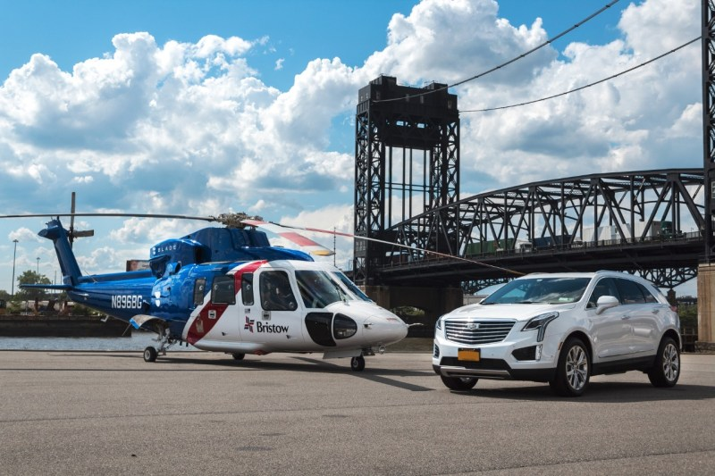 """CADILLAC PARTNERS WITH BLADE TO LAUNCH """"CADILLAC FLY AND DRIVE"""" FOR SUMMER 2017"""