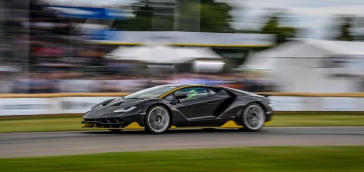 Lamborghini At Goodwood Festival Of Speed 2017