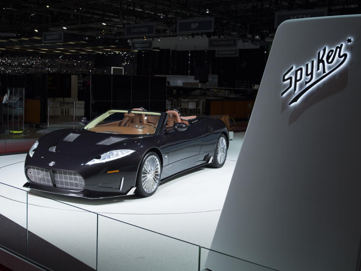 Spyker Announces Engine Supply Agreement With Koenigsegg