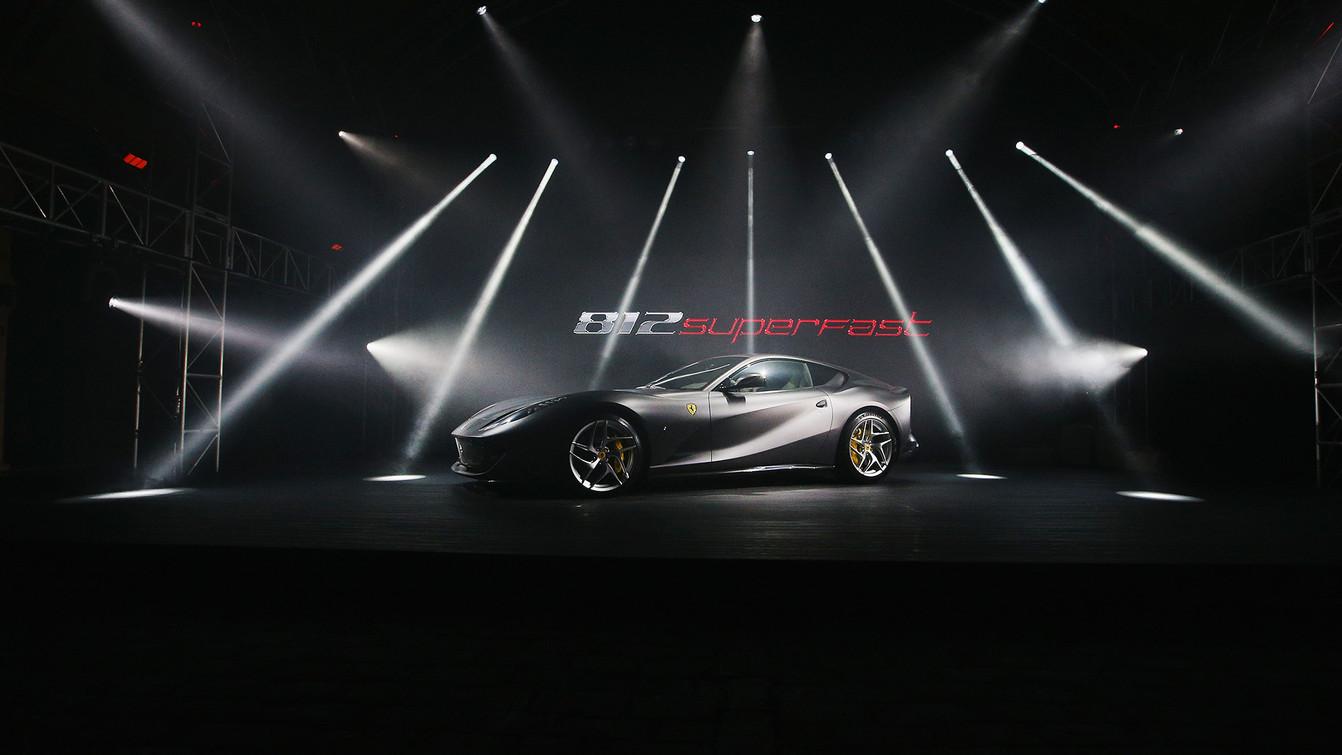 Ferrari 812 Superfast Australasian Premiere