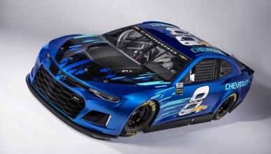 Chevrolet Unveils 2018 Camaro Zl1 Nascar Cup Race Car