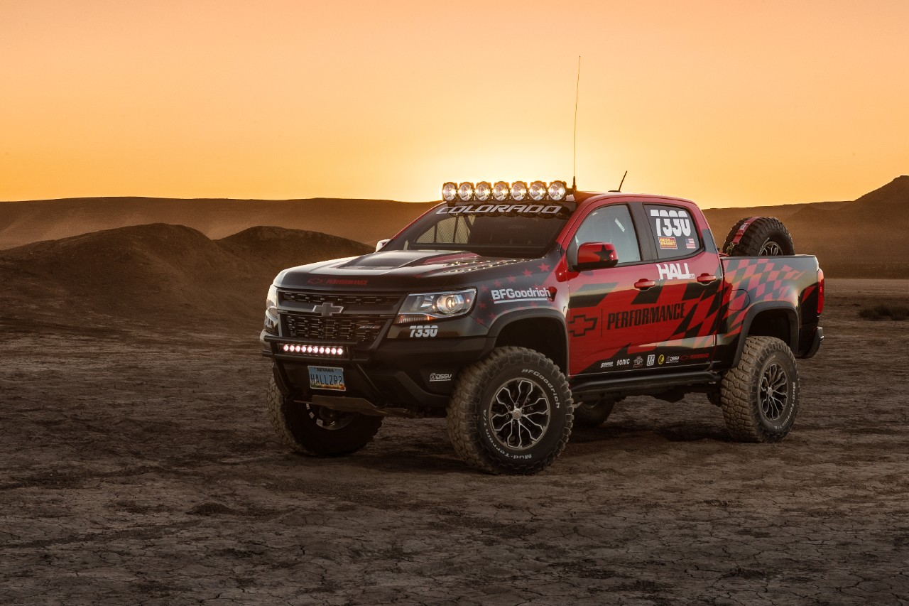 Colorado ZR2 Makes Competition Debut In America's Longest Off-road Race