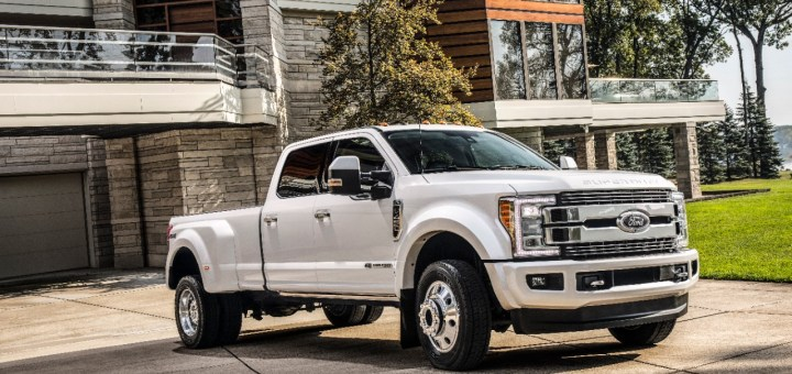 New Ford F-series Super Duty Limited Sets Bar For Luxury, Technology