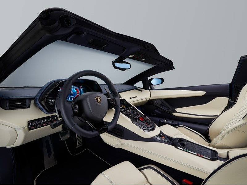 The new Aventador S Roadster: Breathtaking performance with open-air driving sophistication